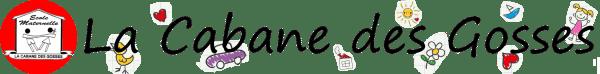 La Cabane des Gosses - Ecole Maternelle Logo